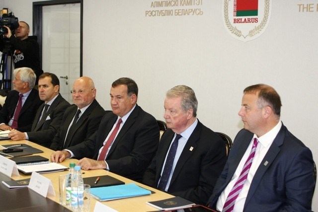 The Coordination Commission conduced their first visit to Minsk in May.JPG