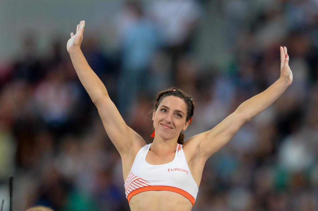 Ирина Жук обновила национальный рекорд в прыжках с шестом