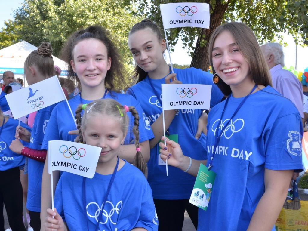 НОК Беларуси поздравляет с Международным олимпийским днем!