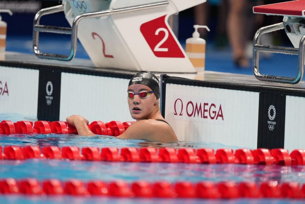 Анастасия Шкурдай заняла восьмое место в финале Олимпиады в Токио