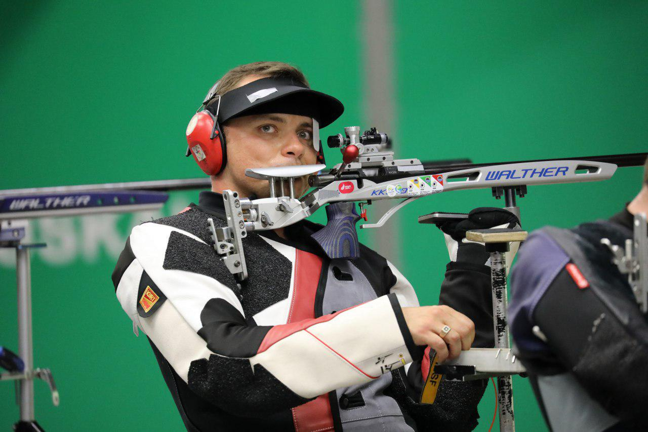 Minsk 2019. Yury Shcherbatsevich claims first victory in rifle and pistol  shooting