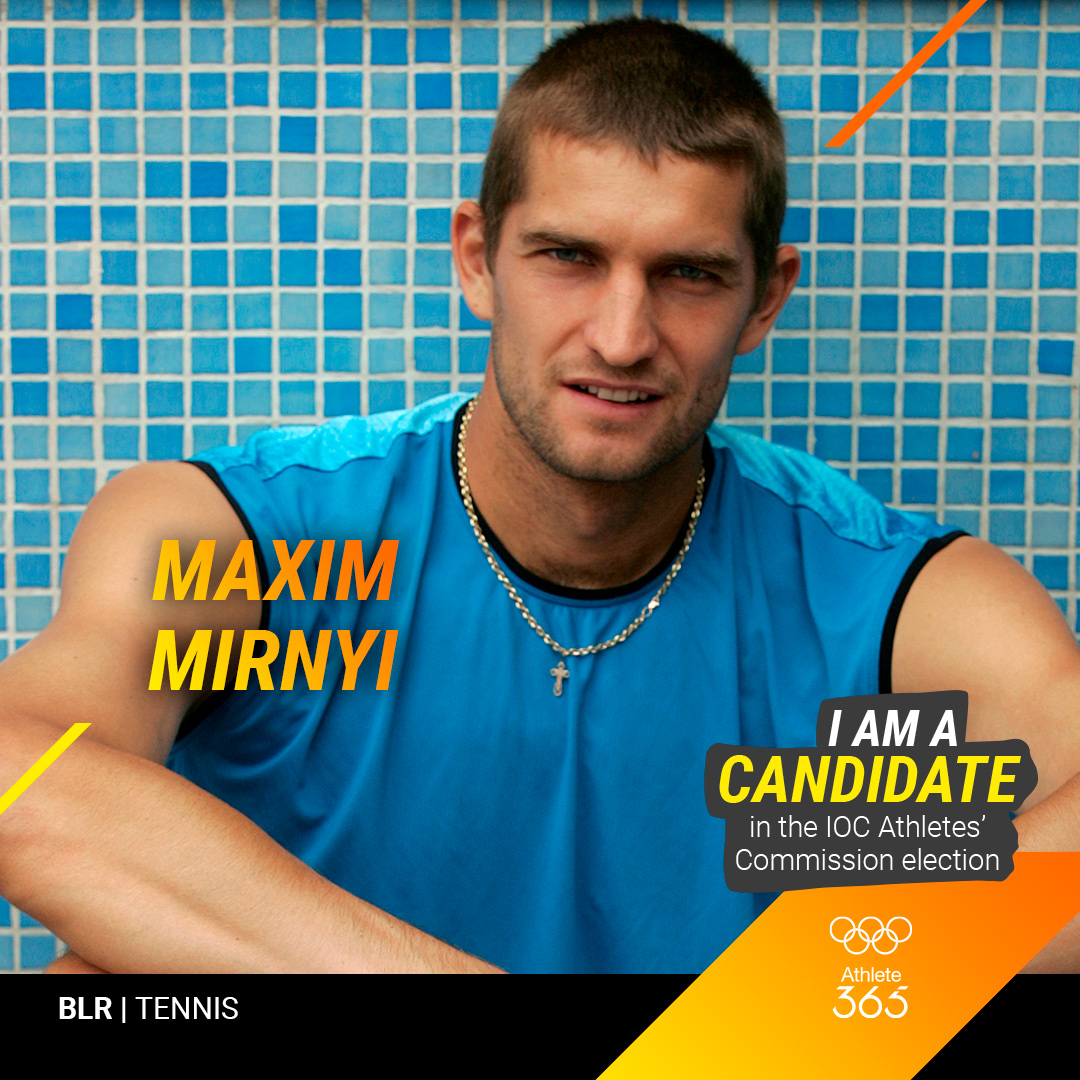 Max Mirnyi nominated as a candidate for the IOC Athletes' Commission election