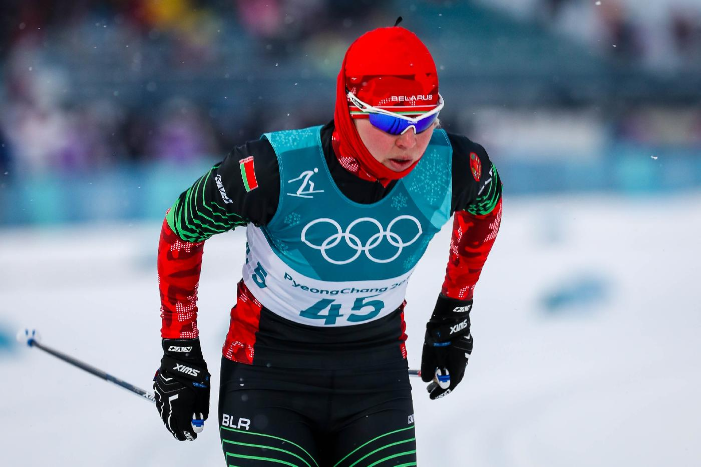 Yulia Tikhanova showed the best result among Belarusian cross-country skiers in sprint qualification