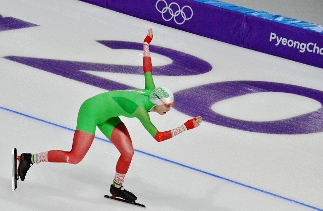 Belarusian Maryna Zuyeva disqualified in 1500m speed skating competition