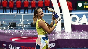 Sabalenka wins in Doha final